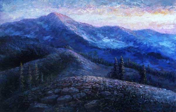 Mountain Chain – Vasyl Petriv